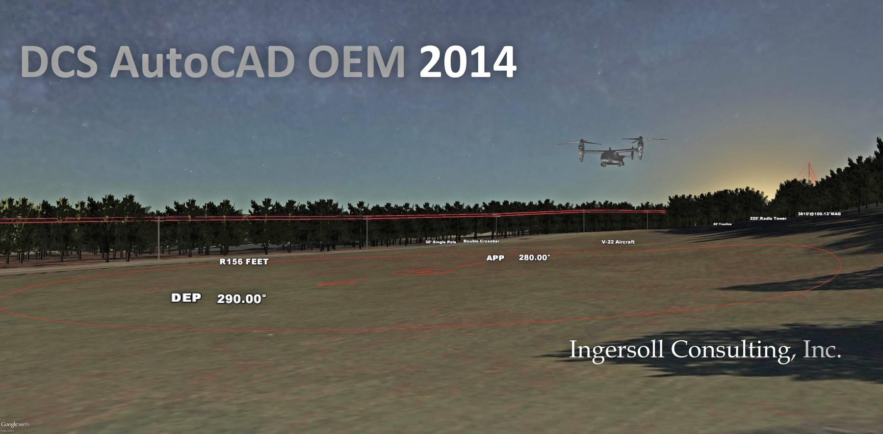 DCS AutoCAD OEM 2014
